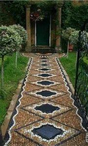 庭院铺路鹅卵石用途
