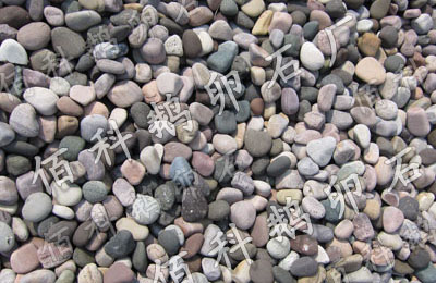 五彩河卵石Φ3-5cm